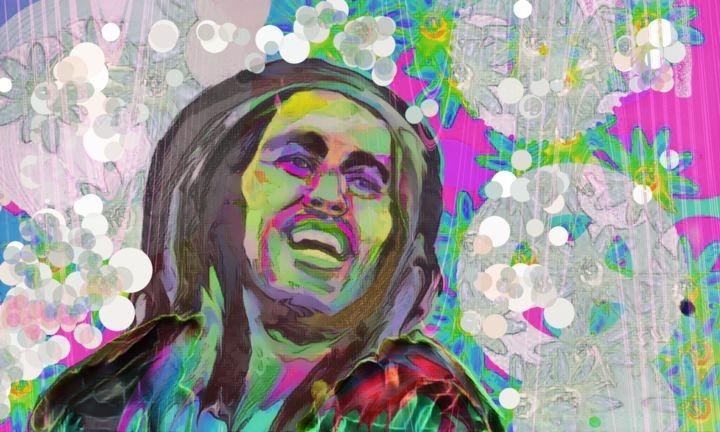 Bob Marley por ferrokaro